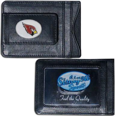 Arizona Cardinals Cash & Cardholder Wallet NFL Football FLMC035