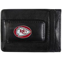 Kansas City Chiefs Cash & Cardholder Wallet NFL Football FLMC045