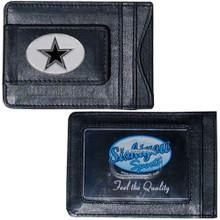 Dallas Cowboys Cash & Cardholder Wallet NFL Football FLMC055