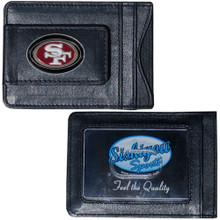 San Francisco 49ers Cash & Cardholder Wallet NFL Football FLMC075