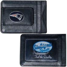 New England Patriots Cash & Cardholder Wallet NFL Football FLMC120