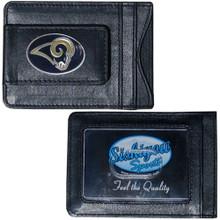 St. Louis Rams Cash & Cardholder Wallet NFL Football FLMC130