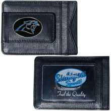 Carolina Panthers Cash & Cardholder Wallet NFL Football FLMC170