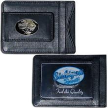 Jacksonville Jaguars Cash & Cardholder Wallet NFL Football FLMC175