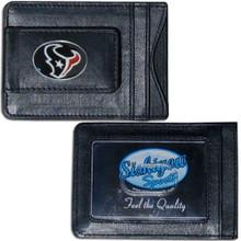 Houston Texans Cash & Cardholder Wallet NFL Football FLMC190