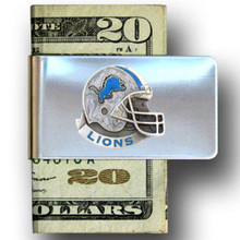 Detroit Lions Helmet Money Clip NFL Football FMC105