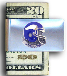 Minnesota Vikings Helmet Money Clip NFL Football FMC165