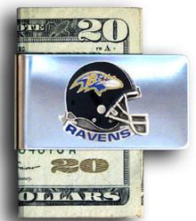 Baltimore Ravens Helmet Money Clip NFL Football FMC180