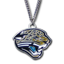Jacksonville Jaguars Logo Necklace NFL Football FN175