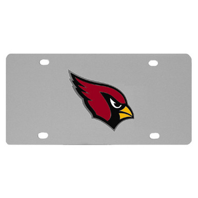 Arizona Cardinals Logo License Plate NFL Football FPLT035
