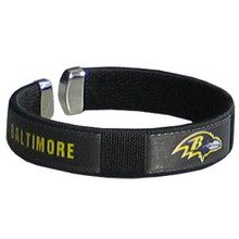 Baltimore Ravens Fan Bracelet NFL Football FRB180
