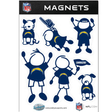 San Diego Chargers Family Magnets NFL Football FRMF040