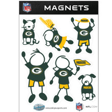Green Bay Packers Family Magnets NFL Football FRMF115