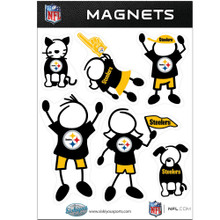 Pittsburgh Steelers Family Magnets NFL Football FRMF160