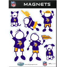 Minnesota Vikings Family Magnets NFL Football FRMF165