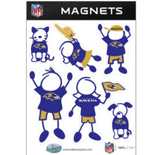 Baltimore Ravens Family Magnets NFL Football FRMF180