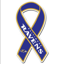Baltimore Ravens Ribbon Magnet NFL Football FRMR180