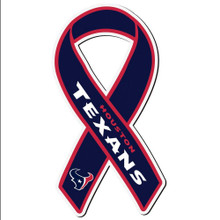 Houston Texans Ribbon Magnet NFL Football FRMR190