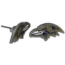 Baltimore Ravens Studded Earrings NFL Football FSE180