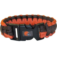 Cleveland Browns Survival Bracelet NFL Football FSUB025