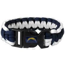 San Diego Chargers Survival Bracelet NFL Football FSUB040