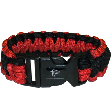 Atlanta Falcons Survival Bracelet NFL Football FSUB070
