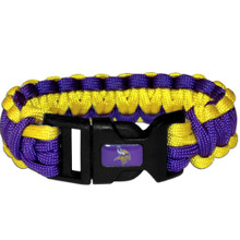 Minnesota Vikings Survival Bracelet NFL Football FSUB165