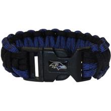 Baltimore Ravens Survival Bracelet NFL Football FSUB180