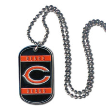 Chicago Bears Dog Tag Necklace NFL Football FTN005