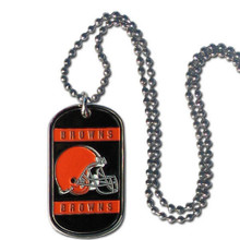 Cleveland Browns Dog Tag Necklace NFL Football FTN025