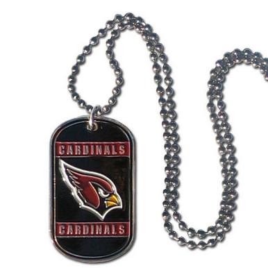 Arizona Cardinals Dog Tag Necklace NFL Football FTN035