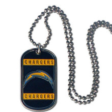 San Diego Chargers Dog Tag Necklace NFL Football FTN040