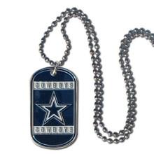 Dallas Cowboys Dog Tag Necklace NFL Football FTN055