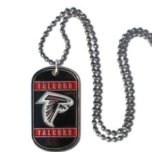 Atlanta Falcons Dog Tag Necklace NFL Football FTN070