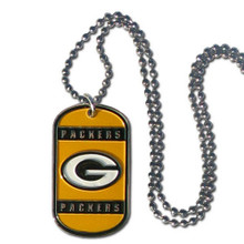 Green Bay Packers Dog Tag Necklace NFL Football FTN115