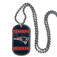 New England Patriots Dog Tag Necklace NFL Football FTN120