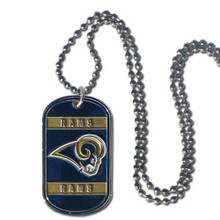 St. Louis Rams Dog Tag Necklace NFL Football FTN130