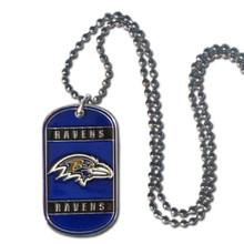 Baltimore Ravens Dog Tag Necklace NFL Football FTN180