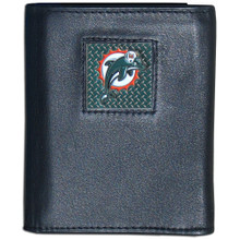 Miami Dolphins Gridiron Trifold Wallet NFL Football FTRD060