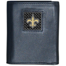 New Orleans Saints Gridiron Trifold Wallet NFL Football FTRD150