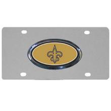 New Orleans Saints Steel License Plate NFL Football FVP150D