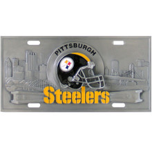 Pittsburgh Steelers 3D License Plate NFL Football FVP160