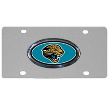 Jacksonville Jaguars Steel License Plate NFL Football FVP175D