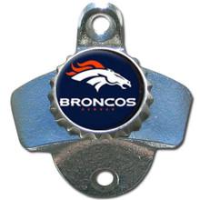 Denver Broncos Wall Bottle Opener NFL Football FWBO020