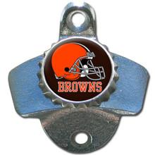 Cleveland Browns Wall Bottle Opener NFL Football FWBO025