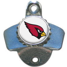 Arizona Cardinals Wall Bottle Opener NFL Football FWBO035