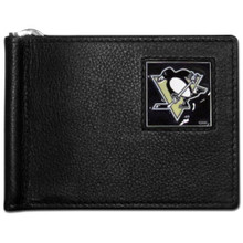 Pittsburgh Penguins Bill Clip Wallet NHL Hockey HBCW100
