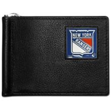 New York Rangers Bill Clip Wallet NHL Hockey HBCW105