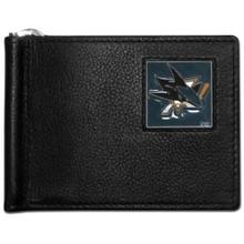 San Jose Sharks Bill Clip Wallet NHL Hockey HBCW115
