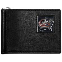 Columbus Blue Jackets Bill Clip Wallet NHL Hockey HBCW130